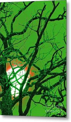 Frankenstein Moon Metal Print by First Star Art