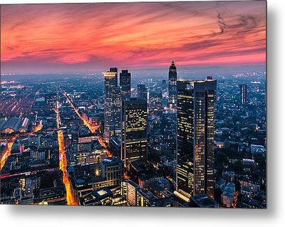 Frankfurt 04 Metal Print by Tom Uhlenberg