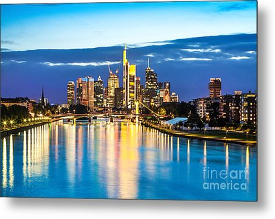 Frankfurt Am Main Metal Print by JR Photography