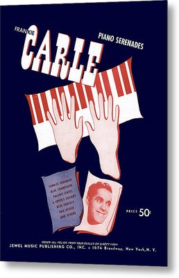 Frankie Carle Metal Print by Mel Thompson