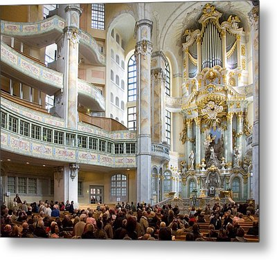 Frauenkirche Metal Print by William Beuther