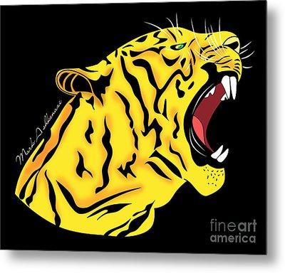 Freak Tiger  Metal Print by Mark Ashkenazi