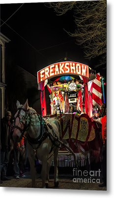 Freakshow-nola Metal Print by Kathleen K Parker