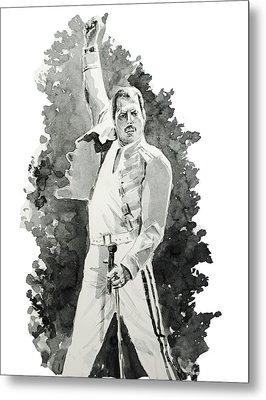 Freddie Mercury 2 Metal Print by Bekim Art