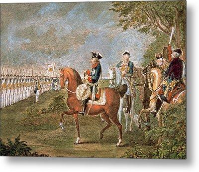 Frederick II The Great (1712-1786 Metal Print