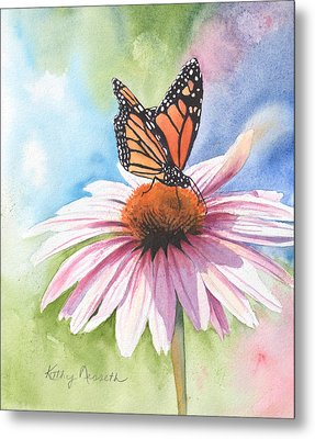 Free Indeed Metal Print by Kathy Nesseth