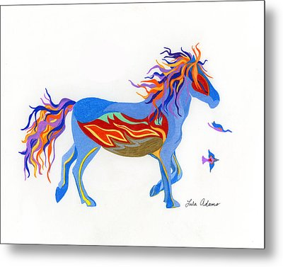 Free To Fly Metal Print