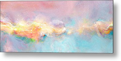 Freedom - Abstract Art Metal Print by Jaison Cianelli