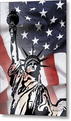 Freedom For Citizens Metal Print by Daniel Hagerman