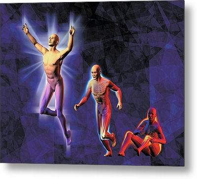 Freedom From Pain Metal Print by Harvinder Singh