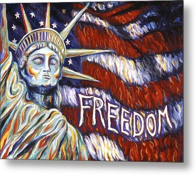 Freedom Metal Print by Linda Mears