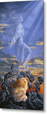 Freedom Metal Print by Lucie Bilodeau