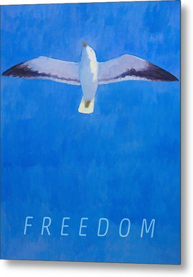 Freedom Metal Print by Lutz Baar