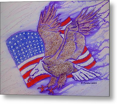 Freedom Reigns Metal Print by Mark Schutter