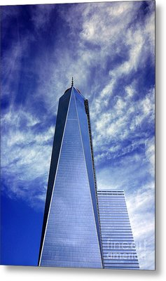 Metal Print featuring the photograph Freedom Tower - New York City by Rafael Quirindongo