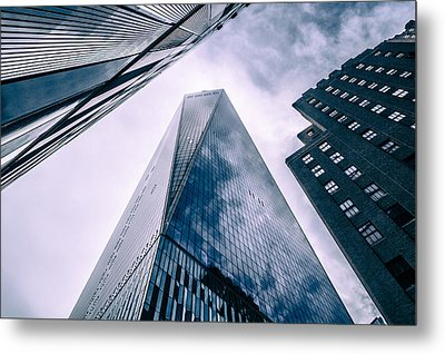 Freedom Tower Metal Print by Wade Brooks