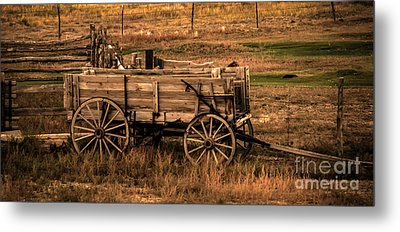 Freight Wagon Metal Print by Robert Bales