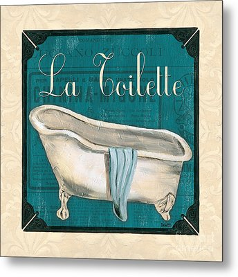 French Bath Metal Print by Debbie DeWitt