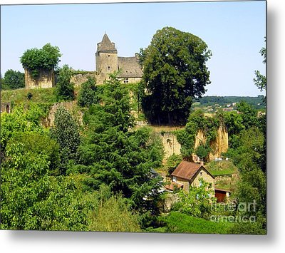 French Countryside Metal Print by Sophie Vigneault