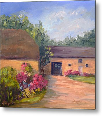 French Farmhouse   Loire Valley Metal Print