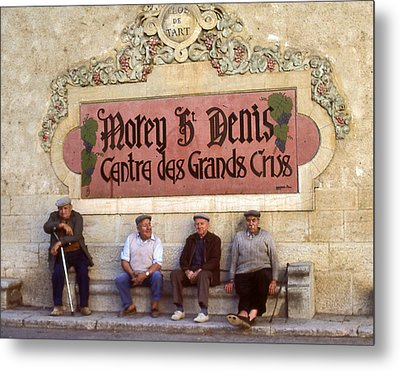 French Gentelman Metal Print by Mel Felix