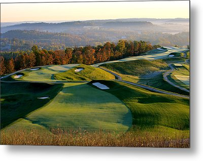 French Lick Resort Dye Course Metal Print by Ken  May