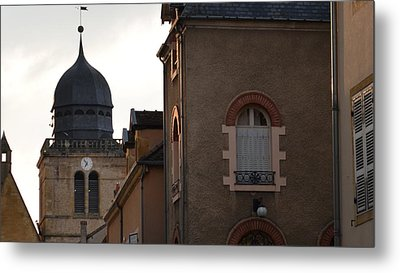 French Living Metal Print