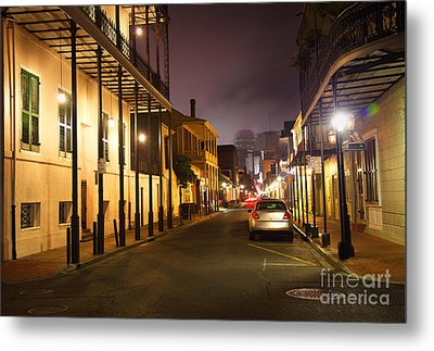 French Quarter Metal Print by Denis Tangney Jr