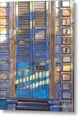French Quarter House 1208 Metal Print by John Boles
