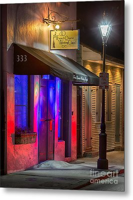 French Quarter Wedding Chapel Metal Print