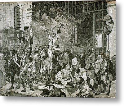 French Revolution Metal Print by Prisma Archivo