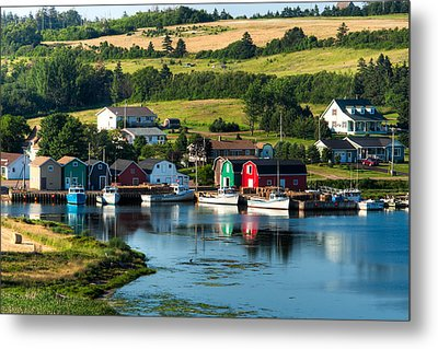 French River Metal Print by Matt Dobson
