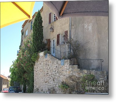 Metal Print featuring the photograph French Riviera - Ramatuelle by HEVi FineArt