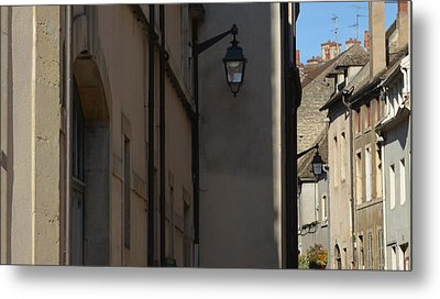 French Terraces Metal Print