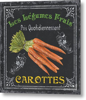 French Vegetables 4 Metal Print by Debbie DeWitt