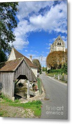 French Village Road Metal Print