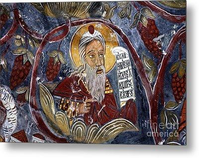Fresco At The Sumela Monastery Turkey Metal Print by Robert Preston