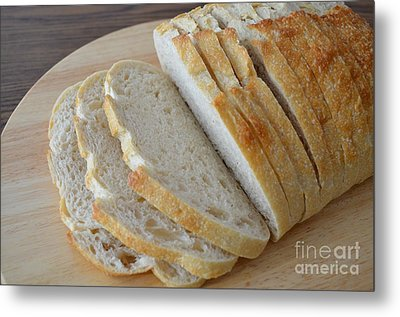 Fresh Baked Sourdough Metal Print by Mary Deal