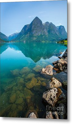 Metal Print featuring the photograph Fresh Breath by Rose-Maries Pictures