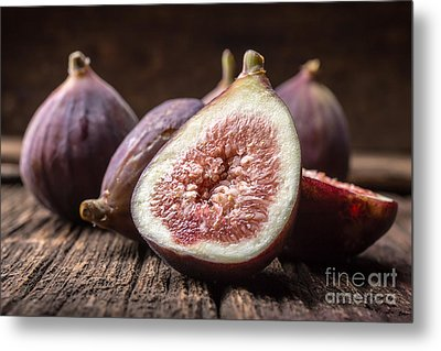 Fresh Figs Metal Print by Edward Fielding