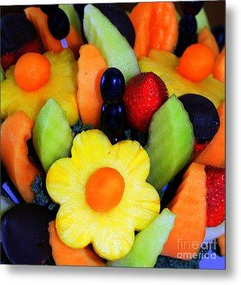 Fresh Fruit Metal Print by Kathleen Struckle