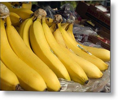 Fresh Fruit, Ripe Bananas Metal Print by Science Source