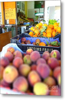 Fresh Fruit Metal Print by Vicki Spindler