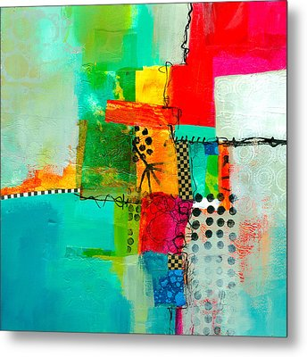 Fresh Paint #5 Metal Print by Jane Davies