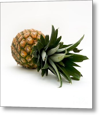 Fresh Pineapple Metal Print by Bernard Jaubert