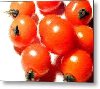 Fresh Tomatos Metal Print by Stefan Petrovici