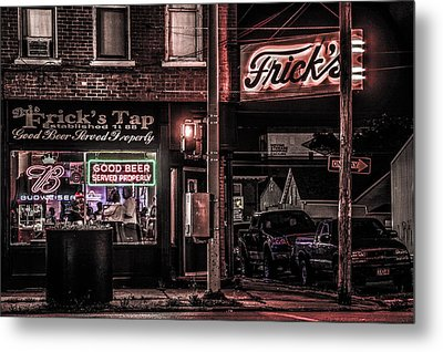 Frick's Tap Metal Print by Ray Congrove
