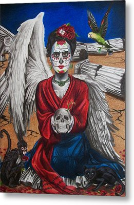 Frida Kahlo Metal Print by Amber Stanford