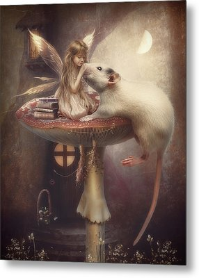 Friends Forever Metal Print by Cindy Grundsten