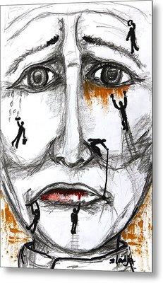 Friends In Need  Metal Print by Sladjana Lazarevic